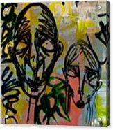 Weathered Friends Acrylic Print