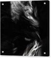 Faces In Smoke 1235 Acrylic Print