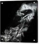 Faces In Smoke  1253 Acrylic Print