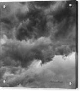 Faces In The Mist Of Chaos Acrylic Print