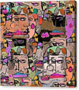 Faces Acrylic Print
