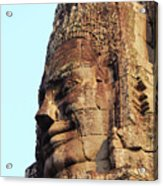 Faces Of The Bayon Temple - Siem Reap, Cambodia Acrylic Print