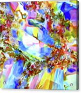 Faceted Gems Acrylic Print