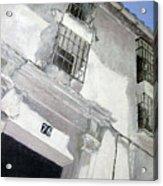 Fachada Andaluza Acrylic Print