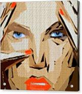 Facial Expressions Xix Acrylic Print