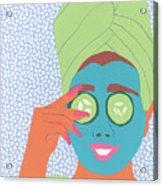Facial Masque Acrylic Print