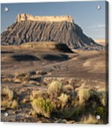 Factory Butte 0552 Acrylic Print