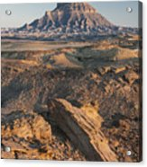 Factory Butte 0768 Acrylic Print