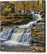 Factory Falls - Childs State Park Acrylic Print