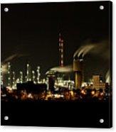 Factory Acrylic Print by Nailia Schwarz