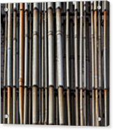 Factory Pipes Acrylic Print