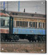 Faded Glory - B And O Railroad Car Acrylic Print