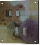 Faded Glory - Les Paul Acrylic Print