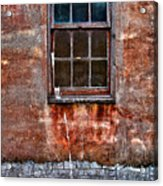Faded Over Time Acrylic Print