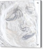 Faded Sculpture Acrylic Print