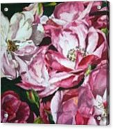 Fading Blooms Acrylic Print