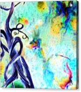 Faeries And Butterflies Acrylic Print