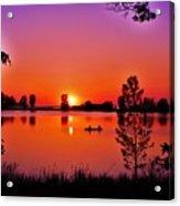 Fair Haven Sunset Acrylic Print