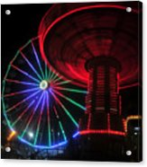 Fair Lights Acrylic Print