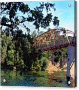 Fair Oaks Bridge Acrylic Print