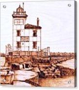 Fair Port Harbor Acrylic Print