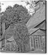 Fairbanks House Dedham Ma Acrylic Print
