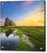 Fairfield Sunrise Acrylic Print