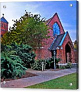 Fairhope Alabama Methodist Church Acrylic Print