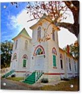 Fairhope Zion Church Acrylic Print