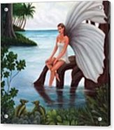 Fairies Glade Acrylic Print