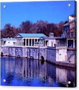 Fairmount Water Works - Philadelphi Acrylic Print