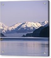 Fairweather Mountain Range Alaska Acrylic Print