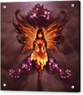 Fairy Angel Acrylic Print by Rick Ritchie