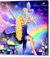 Fairy Blessing Acrylic Print