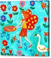 Fairy Cakes Acrylic Print