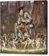 Fairy Dance Acrylic Print by William Holmes Sullivan