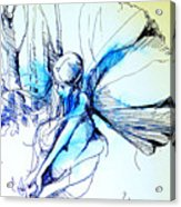 Fairy Doodles Acrylic Print