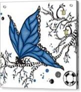Fairy Fly Acrylic Print
