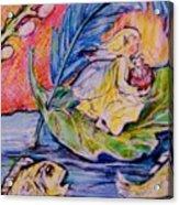 Fairy On The River. Acrylic Print