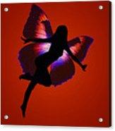 Fairy Silloutte Acrylic Print