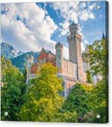 Fairytales From Neuschwanstein Castle Acrylic Print