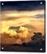 Fairy Tale Sky Acrylic Print