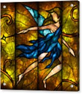 Fairy Tetraptych Acrylic Print by Mandie Manzano