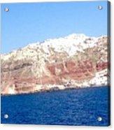 Fairy To Santorinii Acrylic Print