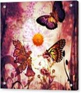 Fairy's Touch Acrylic Print