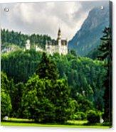 Fairytale Castle Neuschwanstein  Acrylic Print