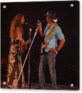 Faith And Tim Sing Acrylic Print