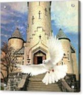 Faith Angel Acrylic Print