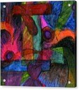 Faith Explosions Acrylic Print