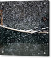 Faith In Snow Ka653 Acrylic Print